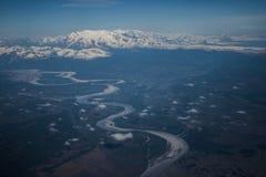 Alaskische Berge lizenzfreies stockfoto