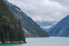 Alaskische Fjorde lizenzfreies stockfoto