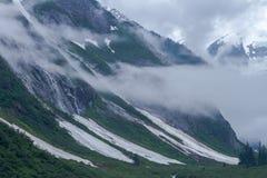 Alaskische Fjorde stockbild