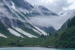 Alaskische Fjorde stockfoto
