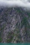 Alaskische Fjorde stockbilder