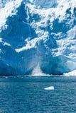 Alaskische Gletscher stockfotografie