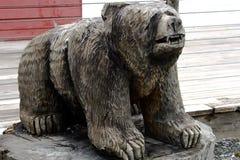 Alaskische Inuitkunst lizenzfreie stockbilder