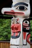 Alaskische Inuitkunst stockbilder