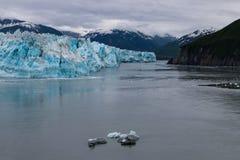Alaskische Landschaft von Gletscher 5 Stockbild