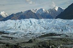 Alaskischer Gletscher Stockfotos