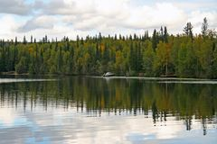 Alaskischer See Lizenzfreies Stockbild