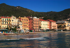 alassio итальянская Италия riviera стоковая фотография rf
