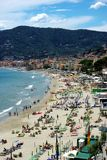 Alassio royalty free stock photos