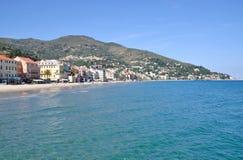 Alassio,italian Riviera,Liguria,Italy Royalty Free Stock Images