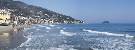 Alassio, Italy Royalty Free Stock Images