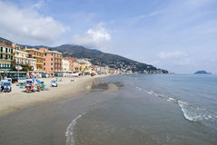 Alassio, Italy Royalty Free Stock Photography