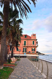 Alassio, Riviera di Ponente, Italy Royalty Free Stock Photo