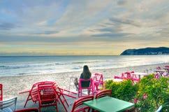Alassio, Riviera di Ponente, Italy Royalty Free Stock Photography