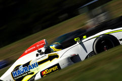 Alastair Wooten in TRS series race car Royalty Free Stock Photography