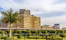 AlAtaba正方形的庭院在开罗 免版税库存照片