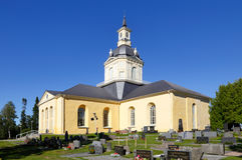 Alatornio church Stock Photography