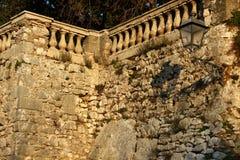 Alatri,中世纪村庄在中央意大利 库存照片
