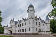 Alatskivikasteel in Estland Stock Foto's