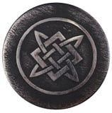 Alatyr-sten som Svarog bankade på hans hammare Arkivfoto