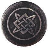 Alatyr-stone on which Svarog banged his hammer Stock Photo