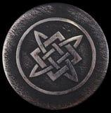 Alatyr-stone on which Svarog banged his hammer Royalty Free Stock Photo