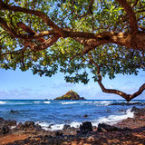 Alau Island, Maui, Hawaii. Royalty Free Stock Photo