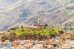 Alausi City Monument Ecuador Royalty Free Stock Image