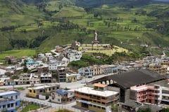 Alausi - province de Chimborazo - l'Equateur Photographie stock libre de droits