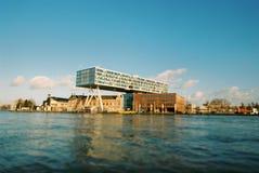 Alavanca de seleção Rotterdam, De Brug Foto de Stock