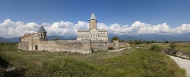 Alaverdi defensive monastery in Georgia Royalty Free Stock Photo