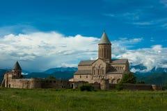Alaverdi kloster i Kakheti, Georgia Royaltyfri Bild