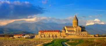 Alaverdi& x27; monasterio de s en Georgia imagen de archivo libre de regalías