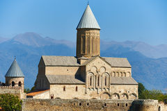 Alaverdi monastery in Georgia Royalty Free Stock Photo
