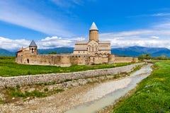 Alaverdi ortodox kloster i Georgia Royaltyfria Foton