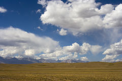 Alay valley in July Royalty Free Stock Images