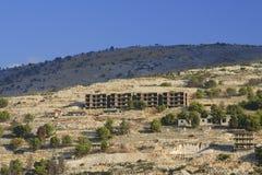 Albânia, Sarande, estruturas inacabados Foto de Stock Royalty Free