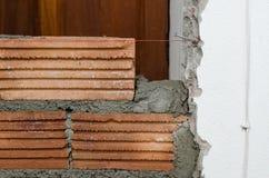 Albañilería, construcción de edificios. Imagenes de archivo