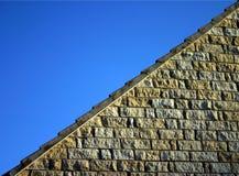 Albañilería de la piedra caliza Fotografía de archivo
