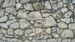 Albañilería de la piedra caliza Cerca de piedra Imagen de archivo