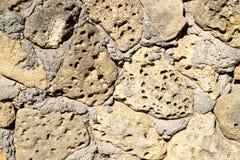 Albañilería de piedra áspera fotos de archivo libres de regalías