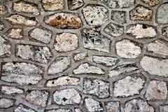 Albañilería de piedra Imagen de archivo libre de regalías