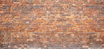 Albañilería del vintage pared de ladrillo roja, fondo para el diseño Foto de archivo