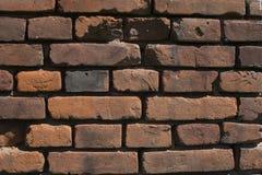 Albañilería vieja del ladrillo Imagenes de archivo