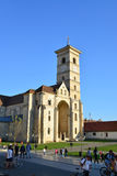 Alba церковь Iulia Стоковые Изображения