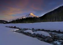 Alba al cappuccio di Mt Fotografia Stock