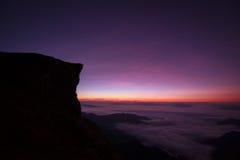 Alba al 'chi' fa, Chiang Rai, Tailandia di Phu Fotografia Stock Libera da Diritti