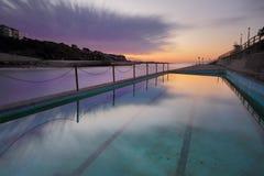 Alba allo stagno Sydney di Clovelly Fotografia Stock Libera da Diritti