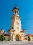 alba arcybiskupi belltower katedry iulia zdjęcie royalty free