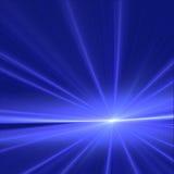 Alba blu Fotografia Stock